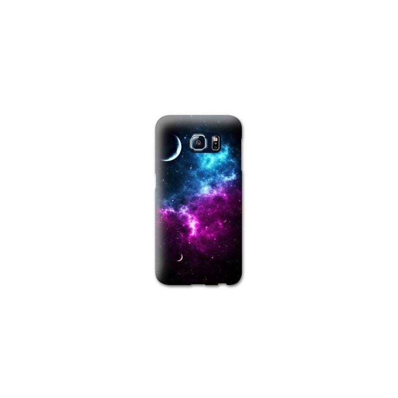 Coque pour Samsung Galaxy S6  Espace Univers Galaxie