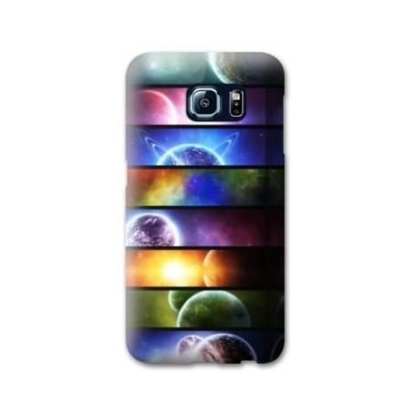 Coque Samsung Galaxy S6  Espace Univers Galaxie
