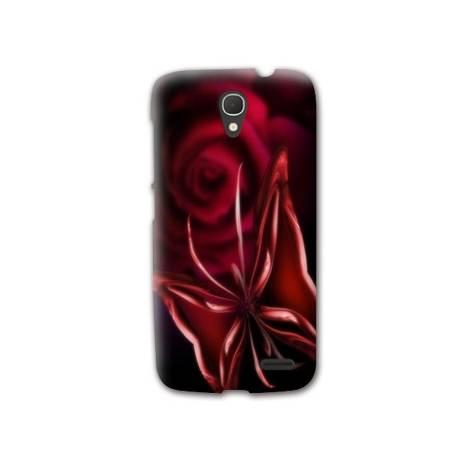 Coque HTC Desire 620  fleurs
