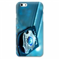 Coque Iphone 6 / 6s  pompier police