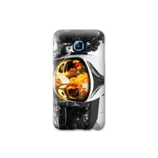 Coque pour Samsung Galaxy S6  pompier police