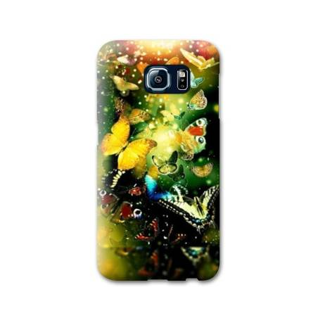 Coque Samsung Galaxy S6 papillons