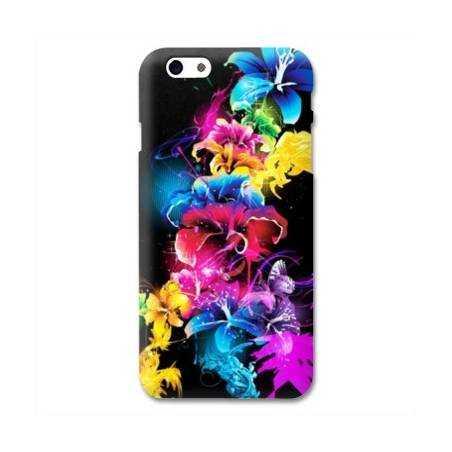 Coque Iphone 6 plus + fleurs