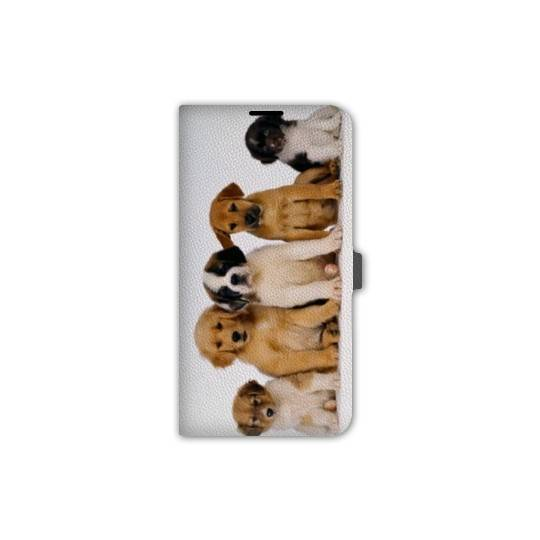 Housse cuir portefeuille Iphone 6 / 6s  animaux 2