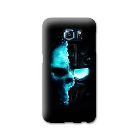 Coque Samsung S6 EDGE tete de mort
