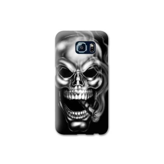 Coque Samsung Galaxy S6 EDGE tete de mort