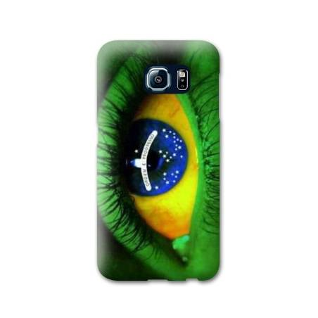 Coque Samsung Galaxy S6 EDGE Bresil