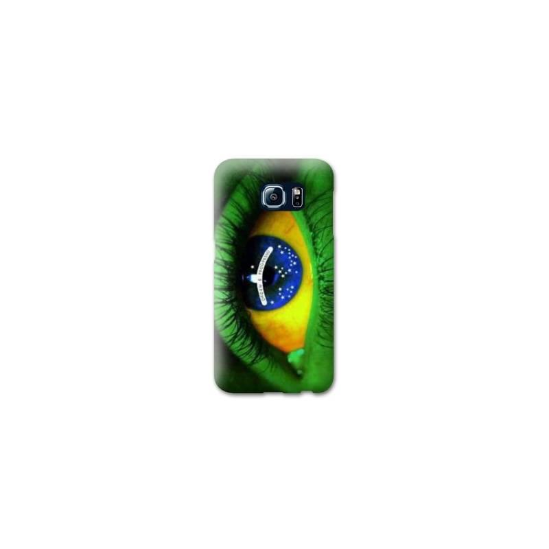 Coque Samsung S6 EDGE Bresil