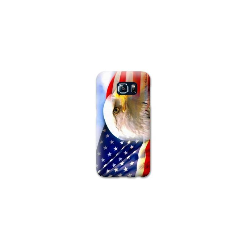 Coque pour Samsung Galaxy S6 EDGE Amerique