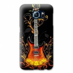 Coque Samsung Galaxy S6 EDGE guitare