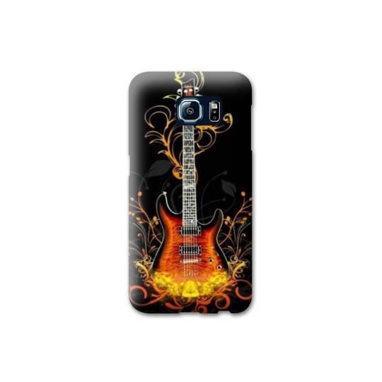 Coque pour Samsung Galaxy S6 EDGE guitare