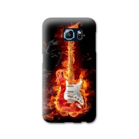 Coque Samsung S6 EDGE guitare