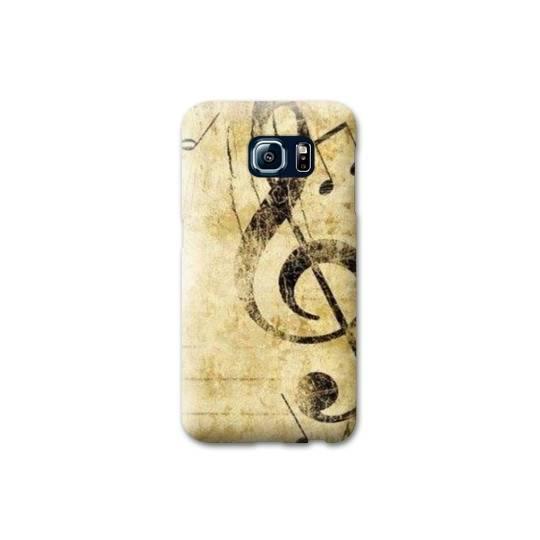 Coque Samsung Galaxy S6 EDGE Musique