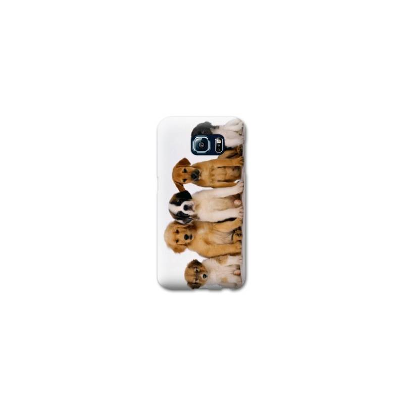 Coque pour Samsung Galaxy S6 EDGE  animaux 2