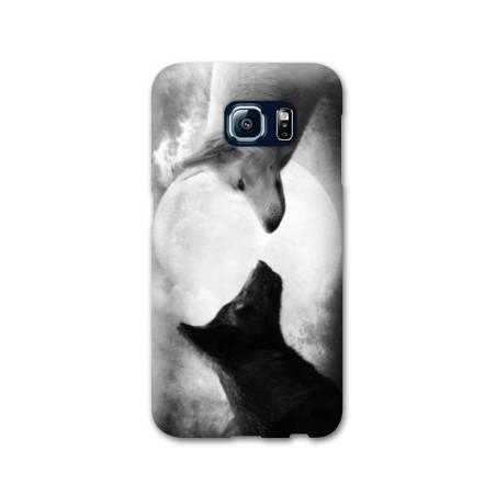 Coque Samsung S6 EDGE  animaux 2