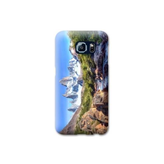 Coque Samsung Galaxy S6 EDGE  Montagne