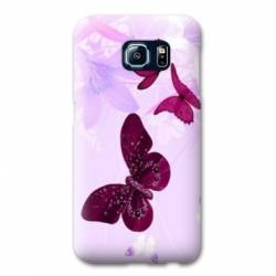 Coque Samsung S6 EDGE papillons