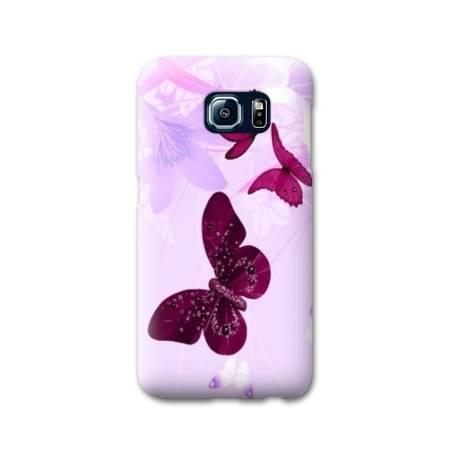 Coque Samsung Galaxy S6 EDGE papillons