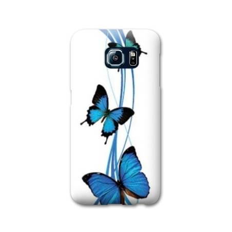 Coque Samsung S6 EDGE papillons