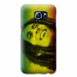 Coque Samsung Galaxy S6 EDGE Bob Marley