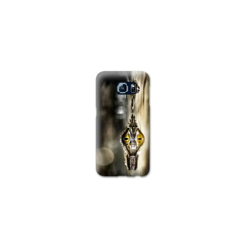 Coque pour Samsung Galaxy S6 EDGE reptiles