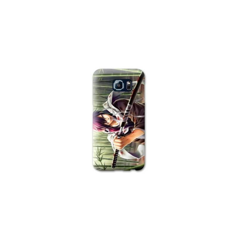 Coque Samsung S6 EDGEaqua Manga - divers