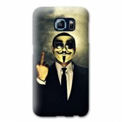 Coque Samsung S6 EDGE Anonymous
