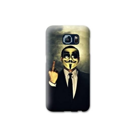 Coque Samsung Galaxy S6 EDGE Anonymous