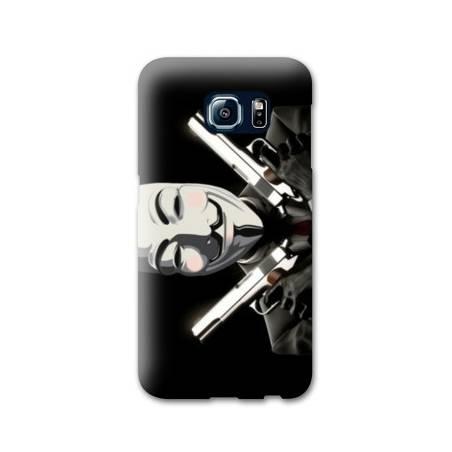 Coque Samsung S6 EDGE Anonymous
