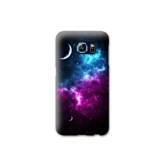Coque Samsung Galaxy S6 EDGE Espace Univers Galaxie