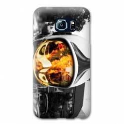 Coque Samsung Galaxy S6 EDGE pompier police