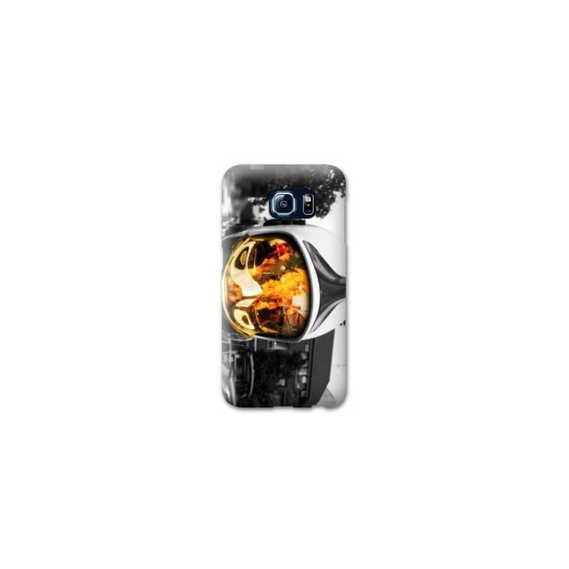 Coque pour Samsung Galaxy S6 EDGE pompier police