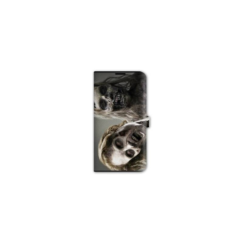 Housse cuir portefeuille iphone 6 horreur for Housse cuir iphone 6