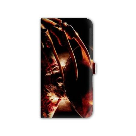 Housse cuir portefeuille Iphone 6 / 6s  Horreur
