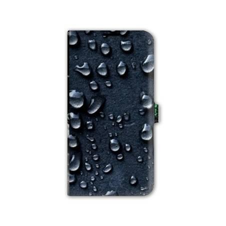Housse cuir portefeuille Iphone 6 / 6s  Trompe oeil