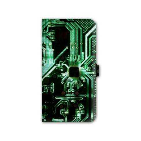 Housse cuir portefeuille Iphone 6 plus / 6s plus  Trompe oeil