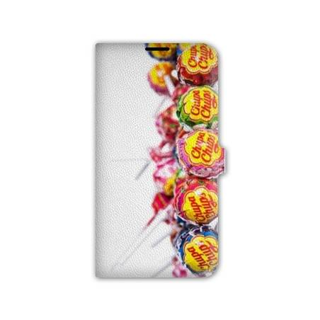 Housse cuir portefeuille Iphone 6  / 6s Gourmandise