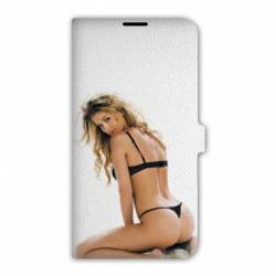 Housse cuir portefeuille Iphone 6 plus / 6s plus  Sexy