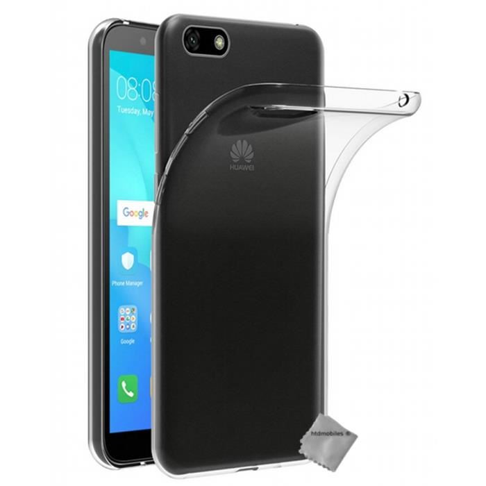 Coque transparente Y5 (2018)