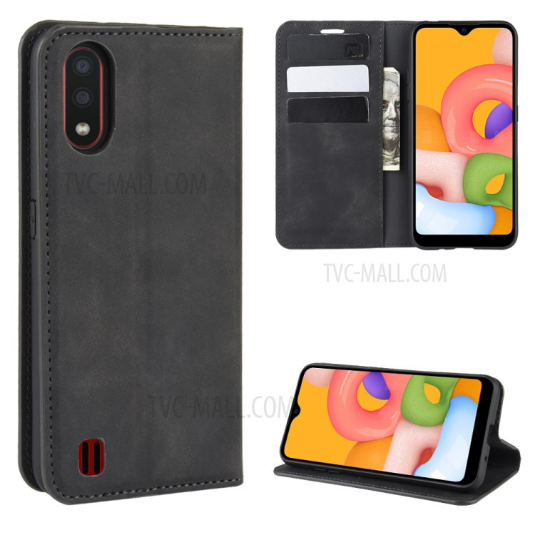 Housse portefeuille Galaxy A01